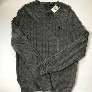 Polo Ralph Lauren Cable Knit Sweater NWT